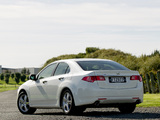 Honda Accord Euro Sedan AU-spec 2011 wallpapers