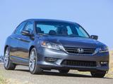 Honda Accord Sport Sedan 2012 images