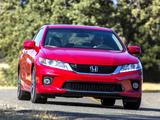 Honda Accord EX-L V6 Coupe 2012 photos
