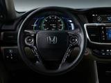 Honda Accord Hybrid US-spec 2016 photos