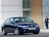 Images of Honda Accord Sedan UK-spec (CL) 2003–06