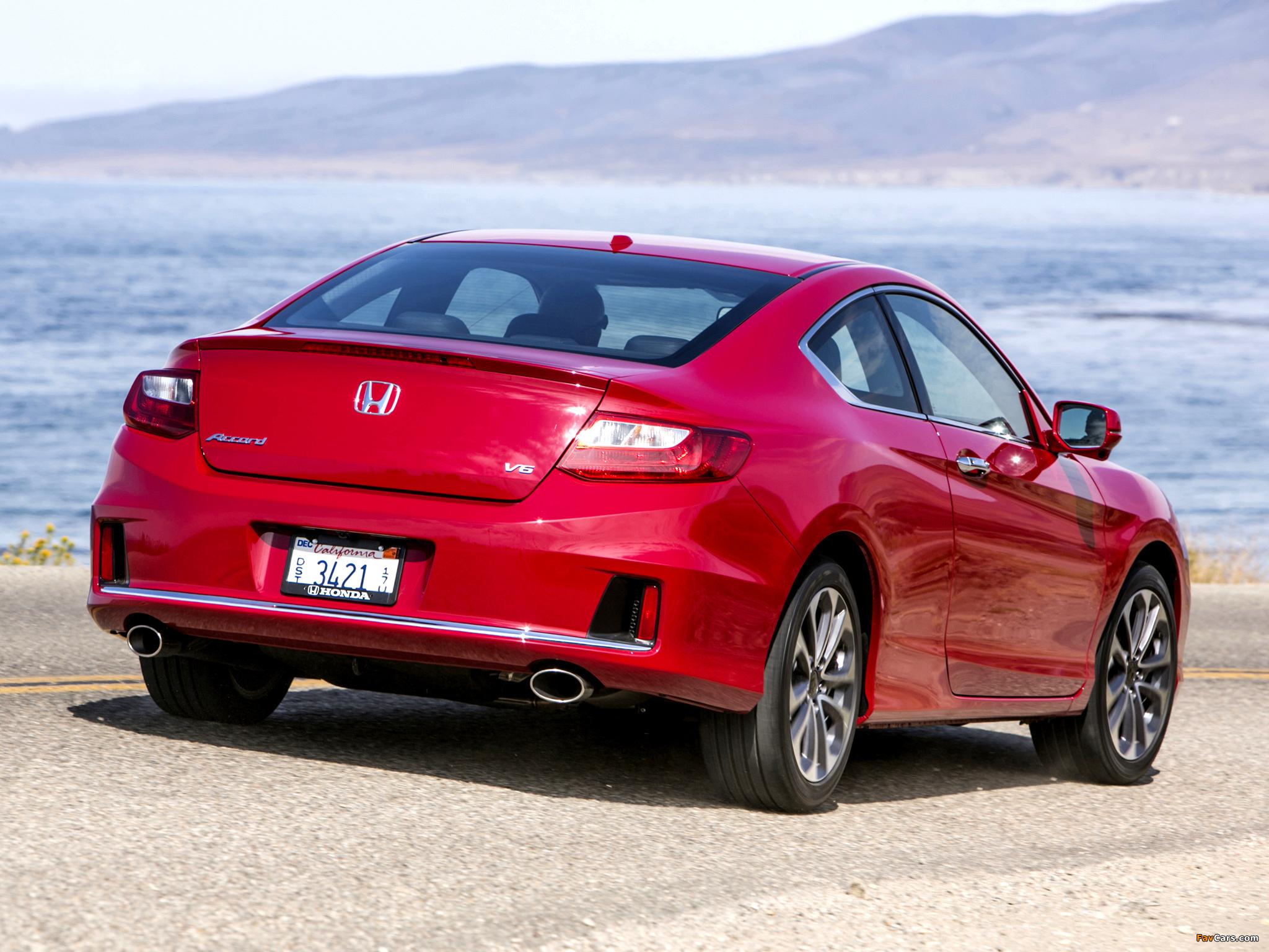 2012 Honda Accord Coupe V6 Car Insurance Info Image