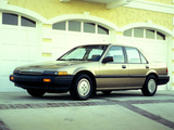 Photos of Honda Accord Sedan US-spec (CA) 1986–89