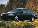 Photos of Honda Accord Sedan US-spec 1998–2002