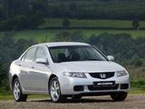 Photos of Honda Accord Sedan (CL) 2003–06