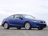 Photos of Honda Accord Coupe US-spec 2008–10