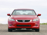 Photos of Honda Accord Coupe US-spec 2008–10