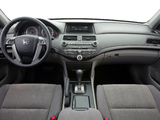 Photos of Honda Accord Sedan US-spec 2008–10