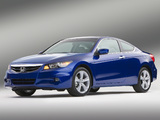 Photos of Honda Accord Coupe US-spec 2010–12