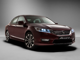 Photos of Honda Accord V6 Sedan RU-spec 2013