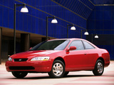 Pictures of Honda Accord Coupe US-spec 1998–2002