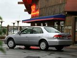 Pictures of Honda Accord Sedan US-spec 1998–2002