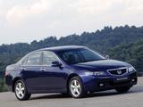 Pictures of Honda Accord Sedan UK-spec (CL) 2003–06