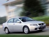Pictures of Honda Accord Sedan (CL) 2003–06