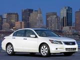 Pictures of Honda Accord Sedan US-spec 2008–10
