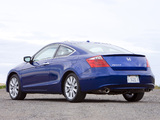 Pictures of Honda Accord Coupe US-spec 2008–10