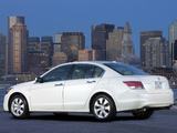 Pictures of Honda Accord Sedan US-spec 2008–10