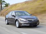 Pictures of Honda Accord Sedan EX-L US-spec 2010–12