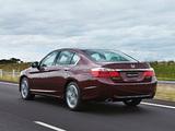 Pictures of Honda Accord V6 Sedan AU-spec 2013
