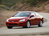 Honda Accord Coupe US-spec 2003–06 wallpapers