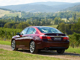 Honda Accord V6 Sedan AU-spec 2013 wallpapers