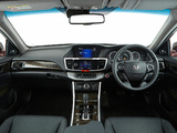 Honda Accord V6 Sedan AU-spec 2013 wallpapers
