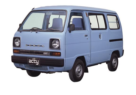 Images Of Honda Acty Van 1979–82
