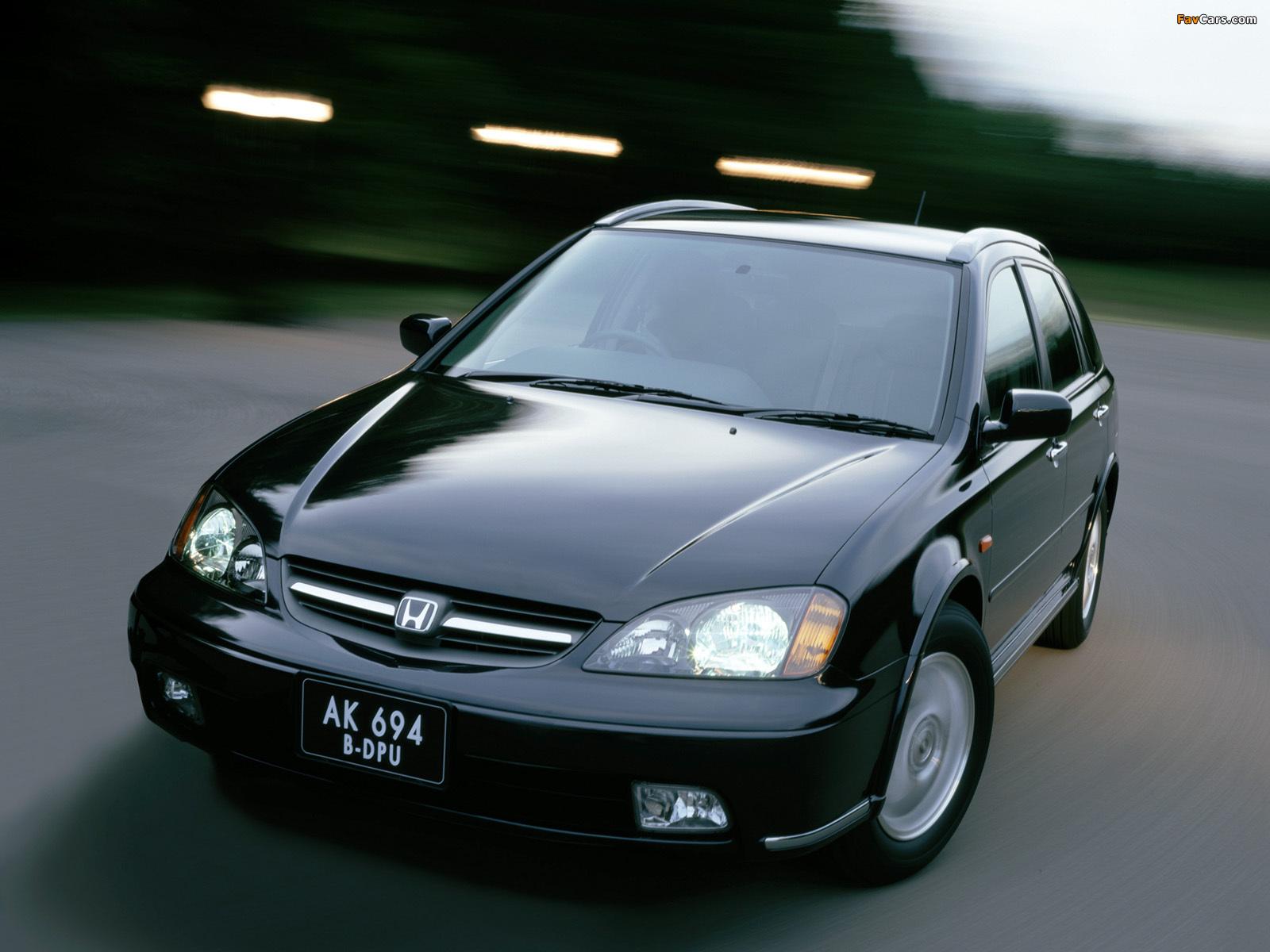 Photos of Honda Avancier () 1999–2003 (1600 x 1200)