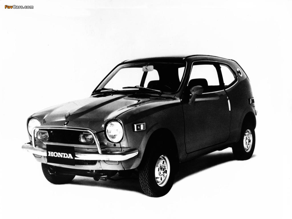 Honda AZ600 1971 wallpapers (1024 x 768)