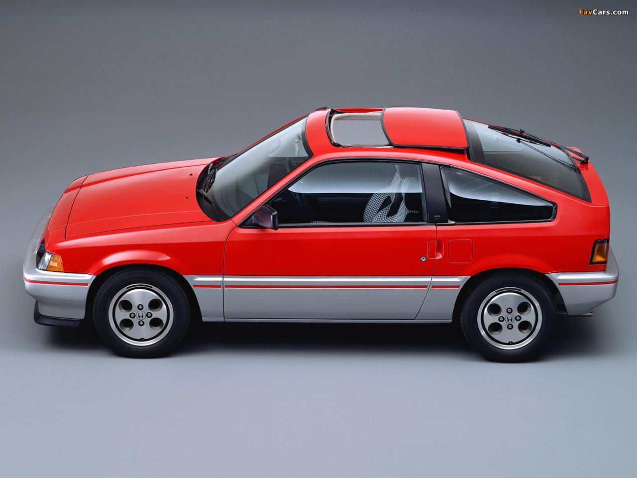 Honda Cr X >> Honda Ballade Sports CR-X 1983–87 pictures (1280x960)