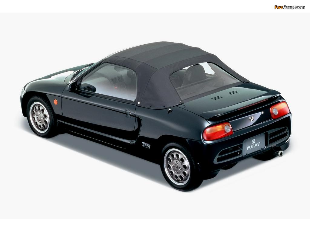 Photos of Honda Beat Version Z (PP1) 1993–95 (1024 x 768)
