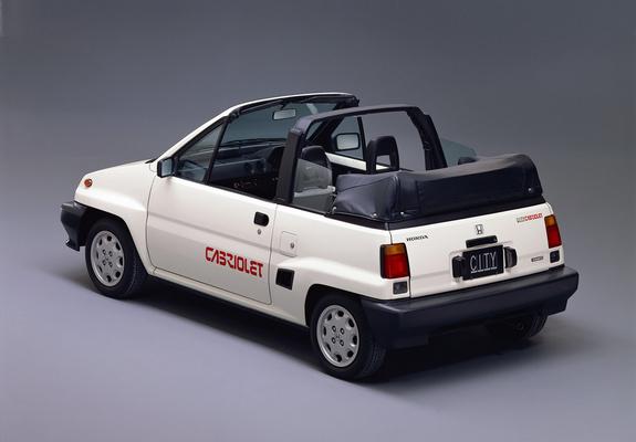Photos of Honda City Cabriolet 1984-86