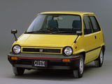 Pictures of Honda City E 1981–86