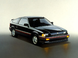 Honda Civic CRX Si 1984–85 photos