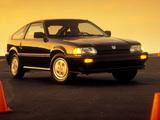 Honda Civic CRX Si 1986–87 images