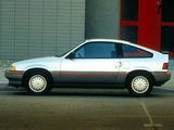 Honda Civic CRX 1986–87 photos