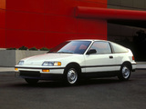 Pictures of Honda Civic CRX 1988–91