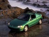 Honda Civic del Sol Si 1993–97 pictures