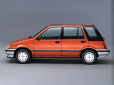 Honda Civic Shuttle 1983–87 images
