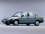 Honda Civic Sedan 1983–87 images