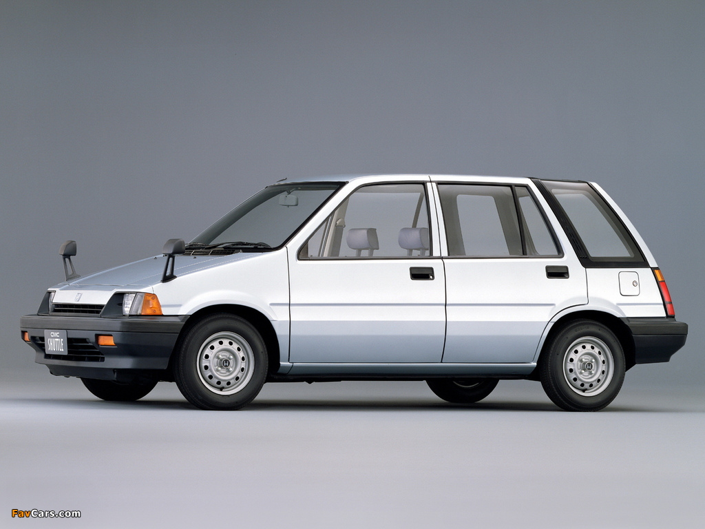 Honda Civic Shuttle 1983–87 pictures (1024 x 768)