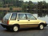 Honda Civic Wagon 1984–87 images