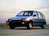 Honda Civic Wagon 1984–87 photos
