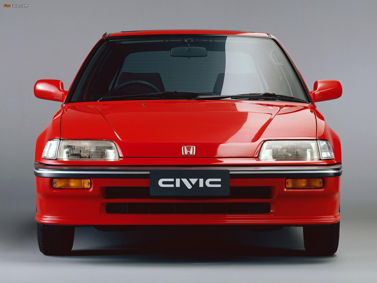 Honda civic hatchback ef 1988 91 wallpapers 1600x1200 for Honda civic 1988