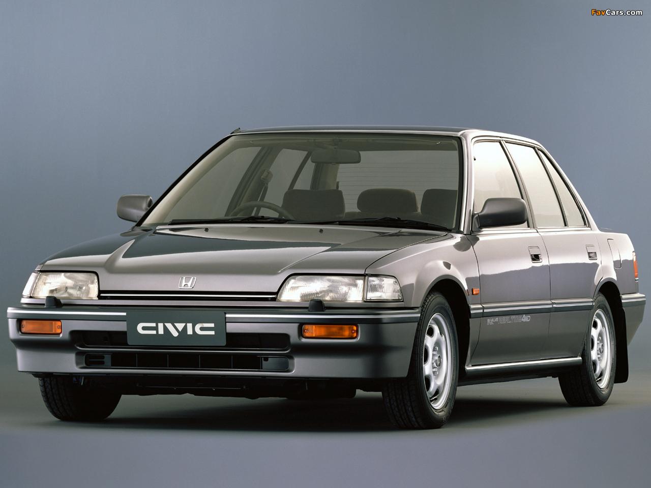 Honda civic sedan ef 1988 91 wallpapers 1280x960 for Honda civic 1988