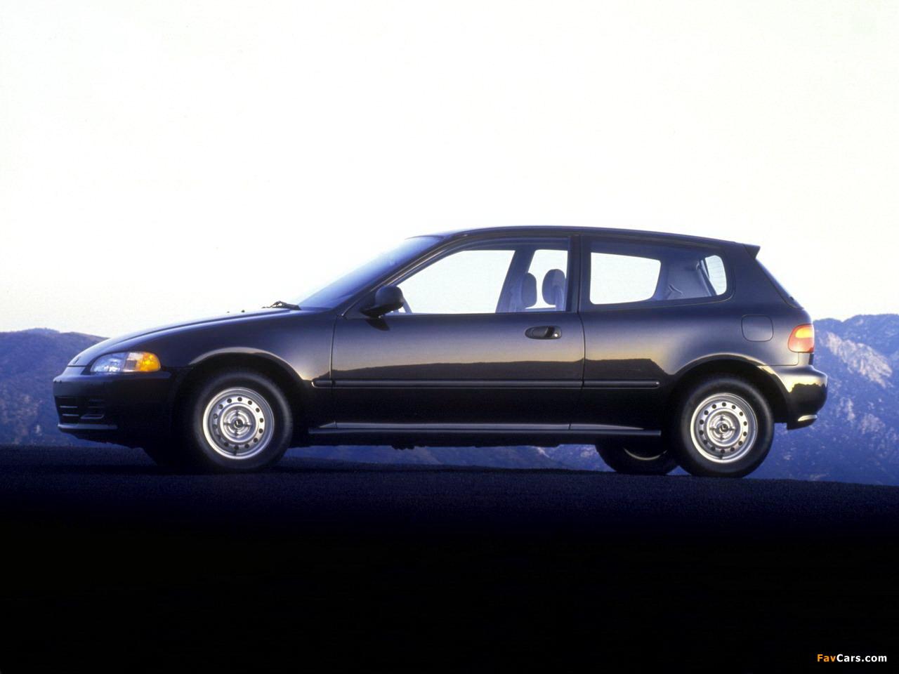 honda civic hatchback us spec eg 1991 95 images 1280x960 rh favcars com