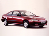 Honda Civic Coupe (EJ1) 1993–95 photos