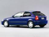Honda Civic VTi Hatchback (EK3) 1995–2000 pictures