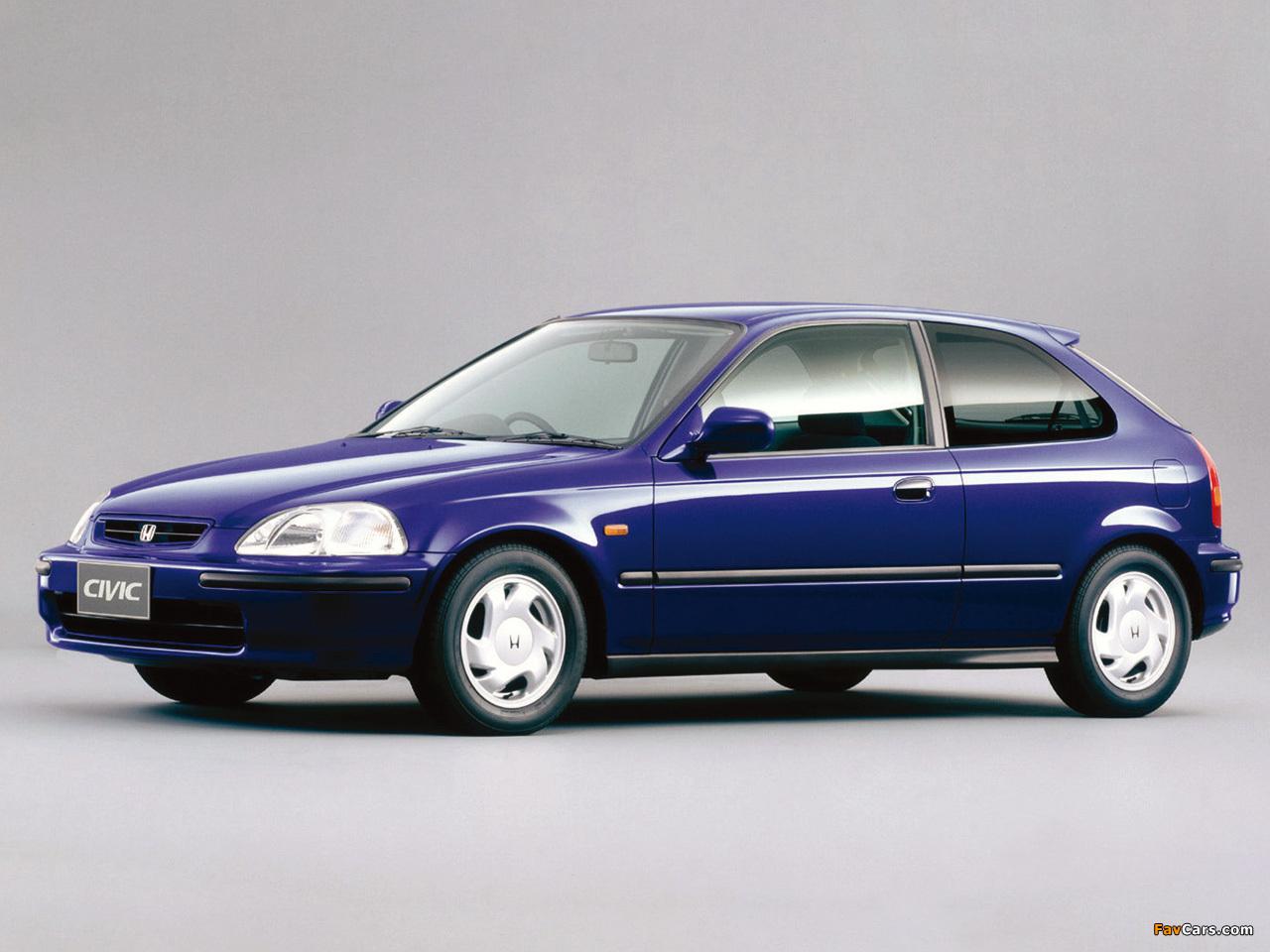 honda civic vti hatchback ek3 1995 2000 wallpapers 1280x960 rh favcars com