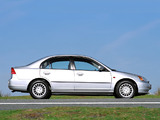 Honda Civic Sedan 2001–03 photos